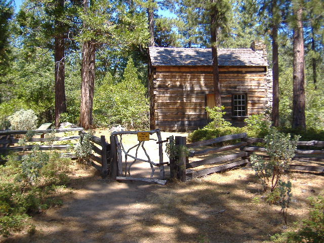 JESSE ROSS CABIN pHOTO jack mcgowan - the carter collection