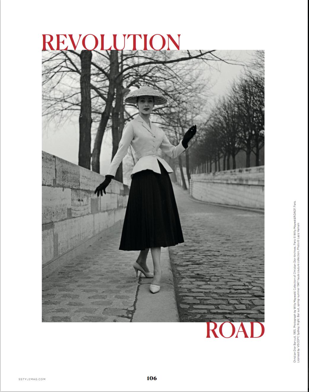 Title page Dior by Leah Van Loon
