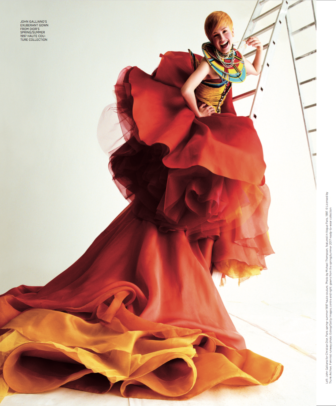 Dior by Leah Van Loon for S Magazine Page 3
