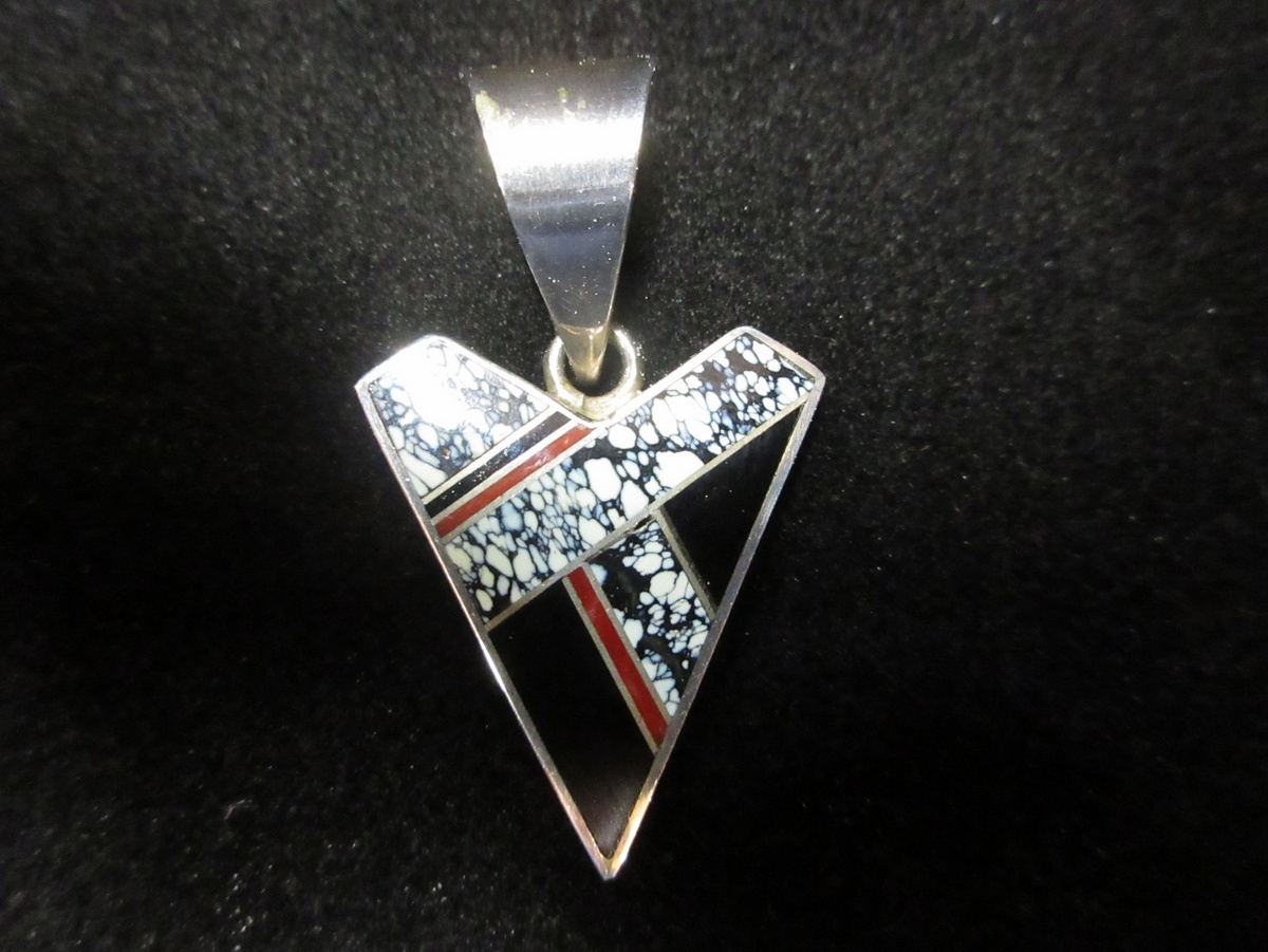Ray Tracey Onyx Pendant