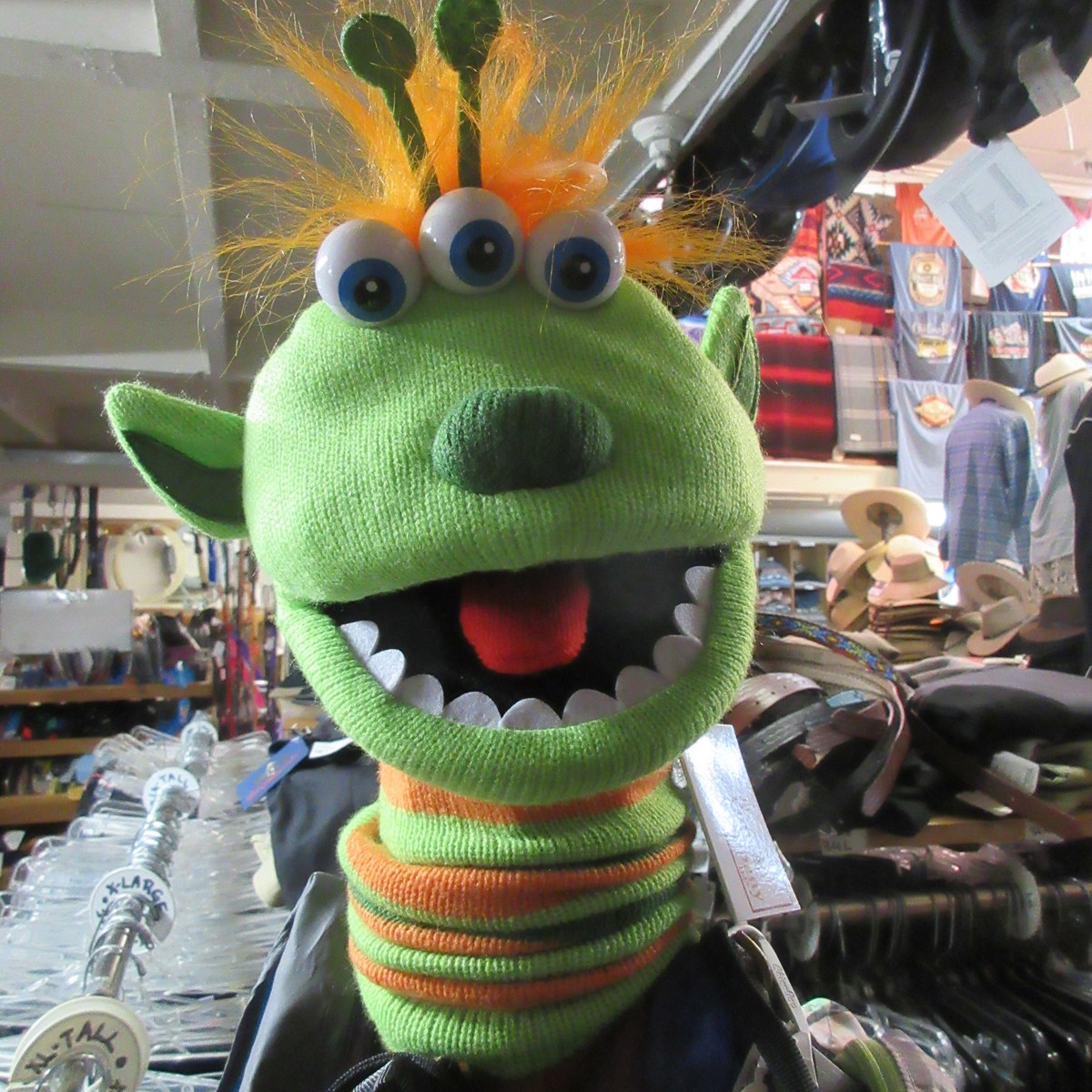 Narg Monster Puppet from The Puppet Company