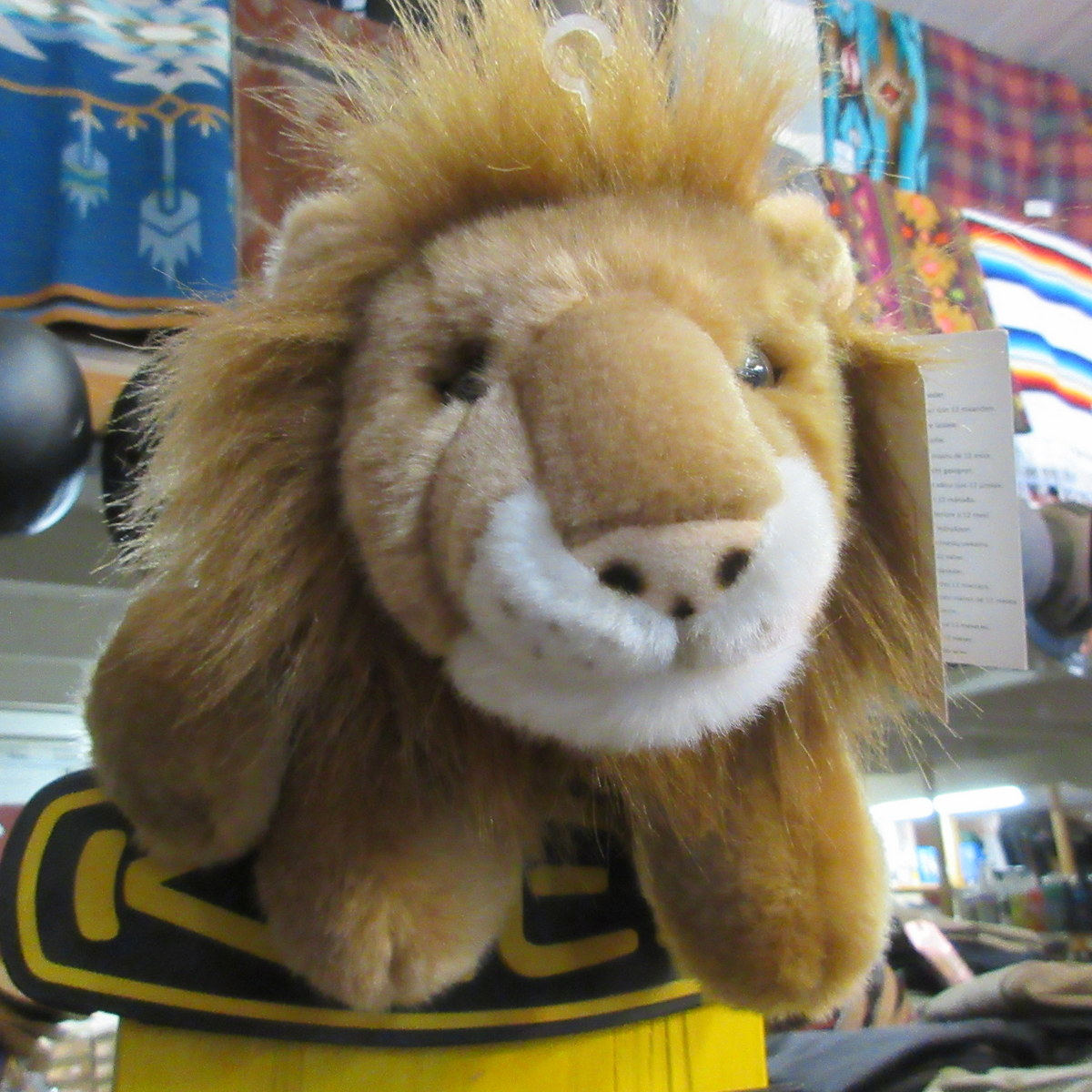 Lion Puppet from The Puppet Company