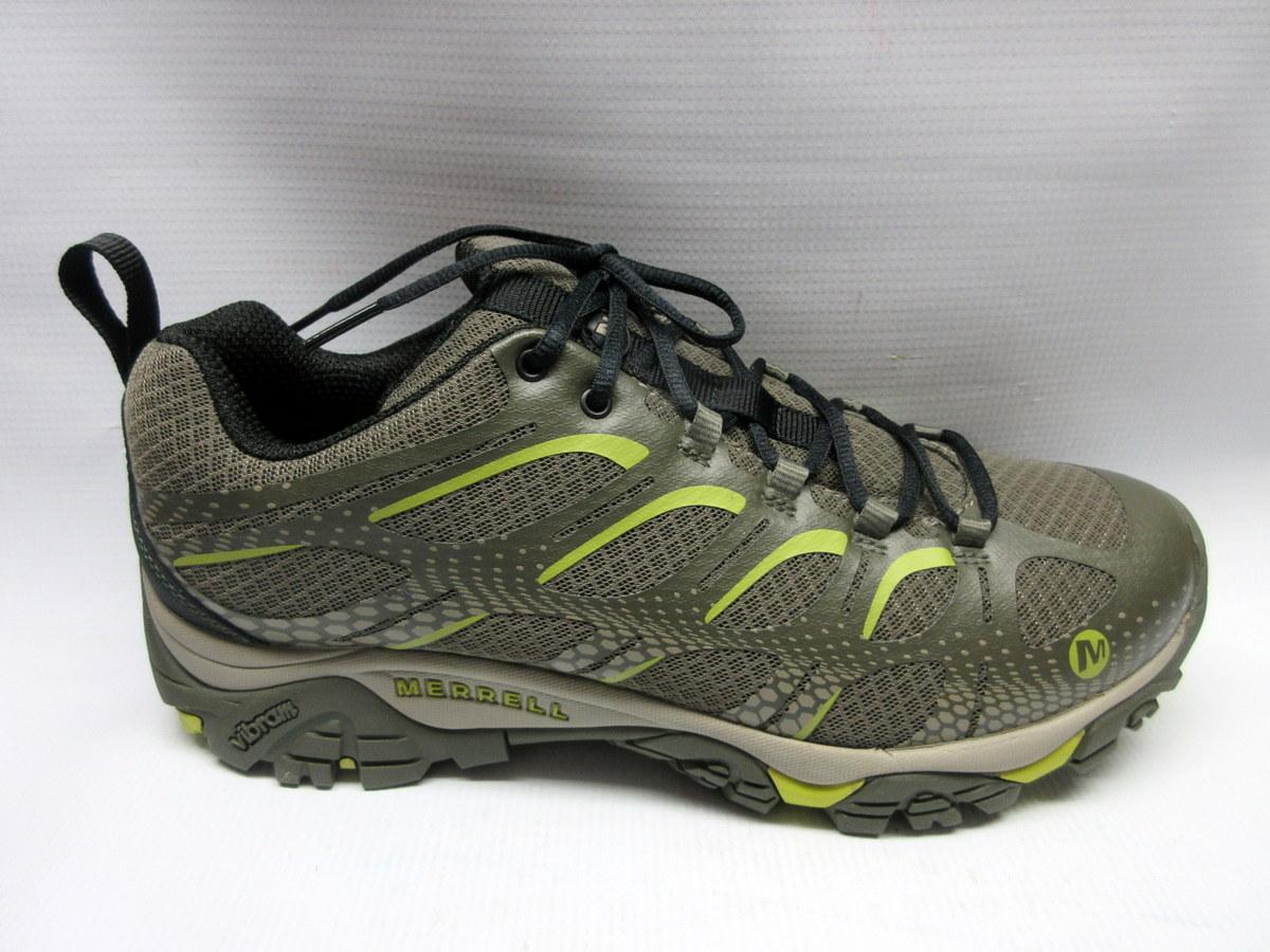 Merrell Shoes Men Moab Edge Dusty Olive