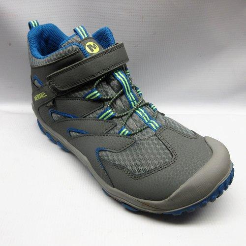 cb739cd31fd Merrell Shoes Children Chameleon Mid AC Waterproof in Grey