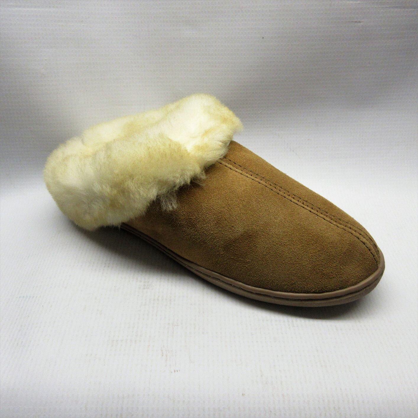 womens tan mule slippers