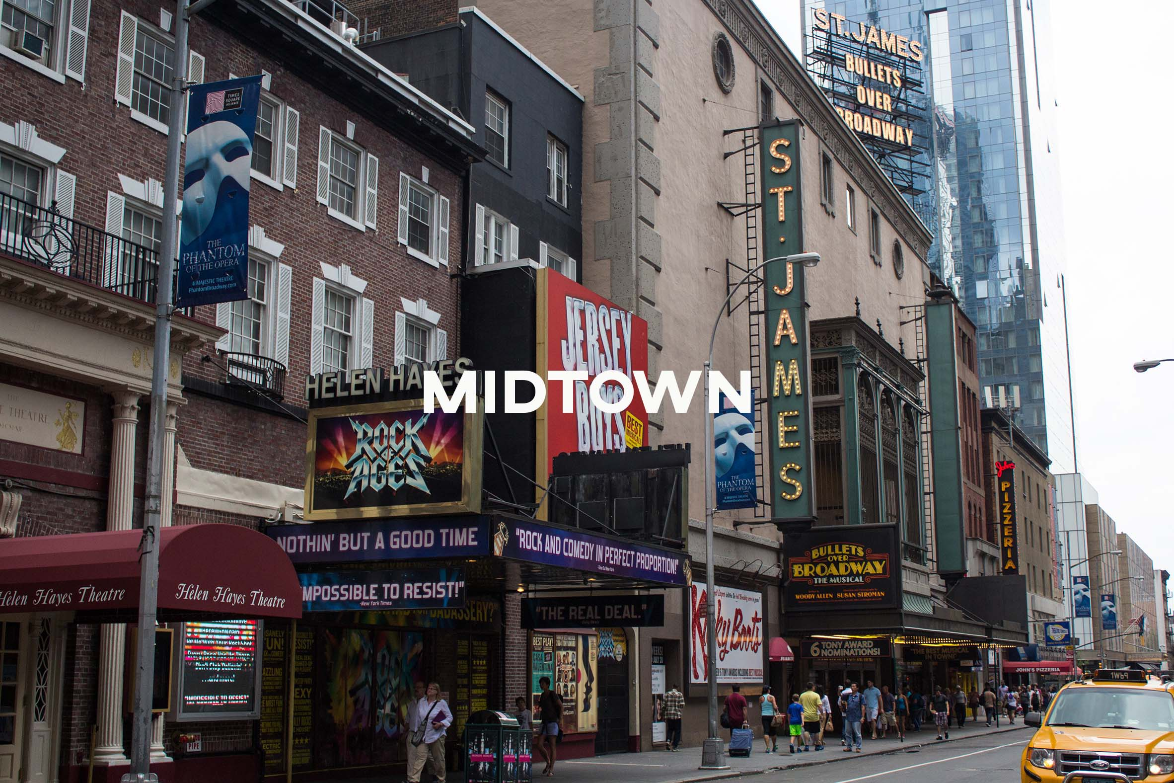 Midtown - The busy home of Times Square