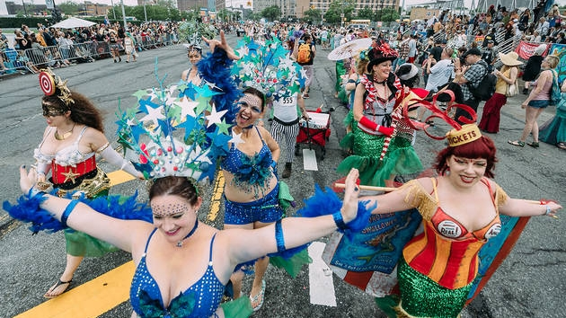 Mermaid Parade, photo by Time Out New York