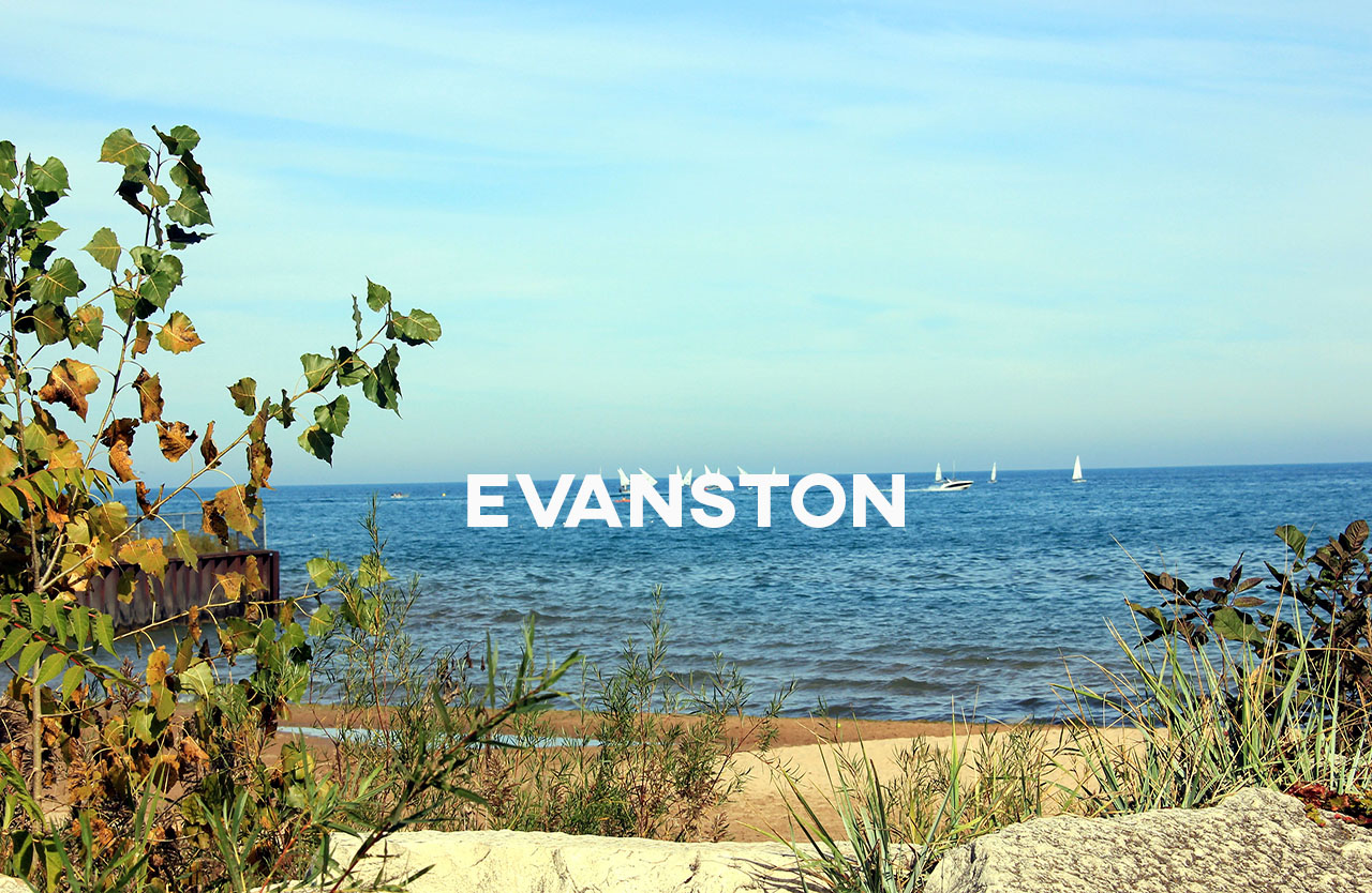 Evanston - Evanston is quaint, convenient, safe, and well traveled