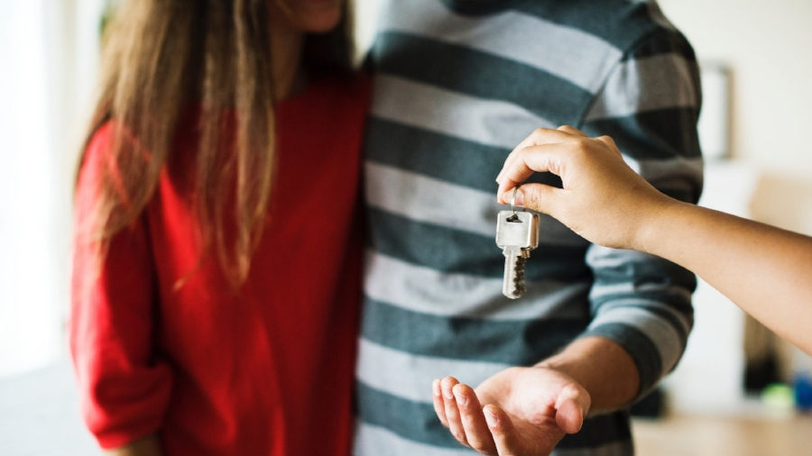 Before getting the keys to your new place, you'll have to pass a credit check