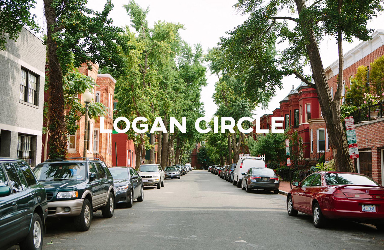 Logan Circle - A central location with easy access to urban amenities