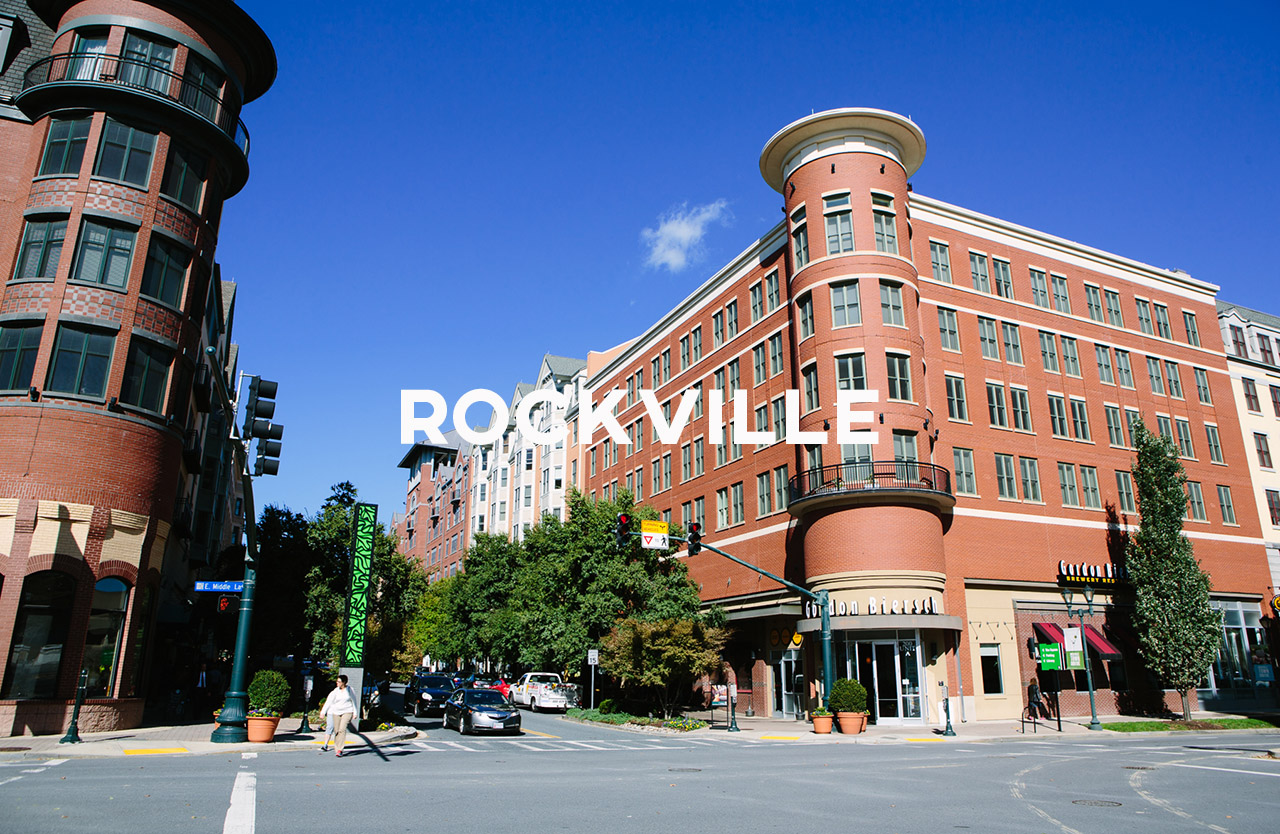 Rockville - A great city for young professionals and families