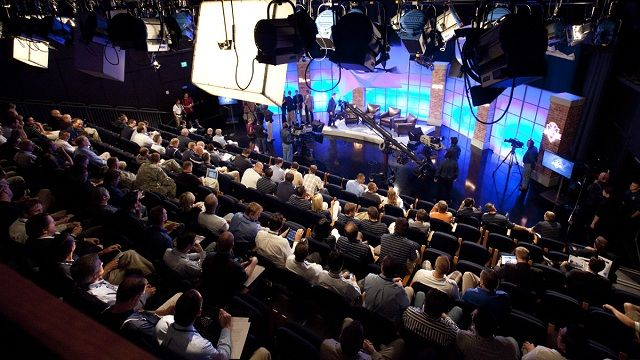Be apart of a live studio audience