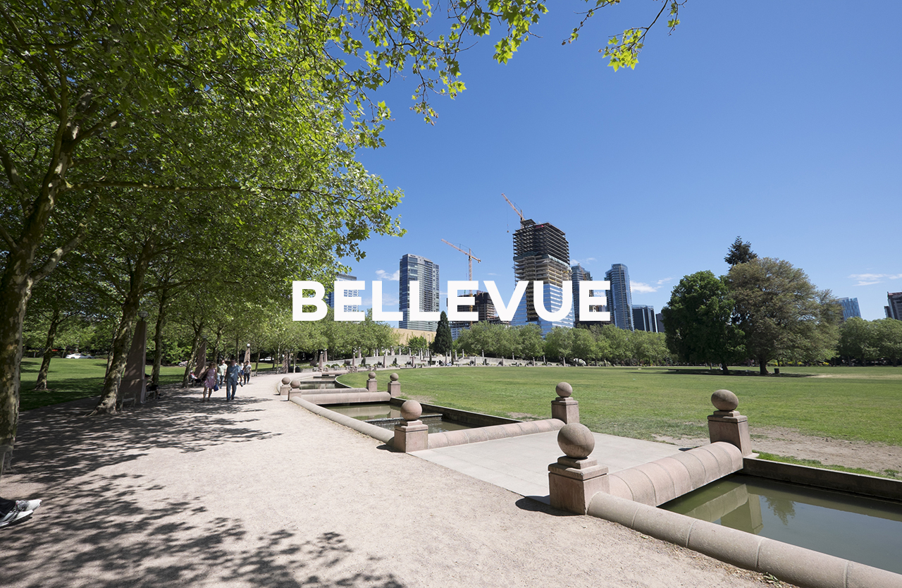 Bellevue - Bellevue: the second largest downtown in the state nestled up to suburbia.