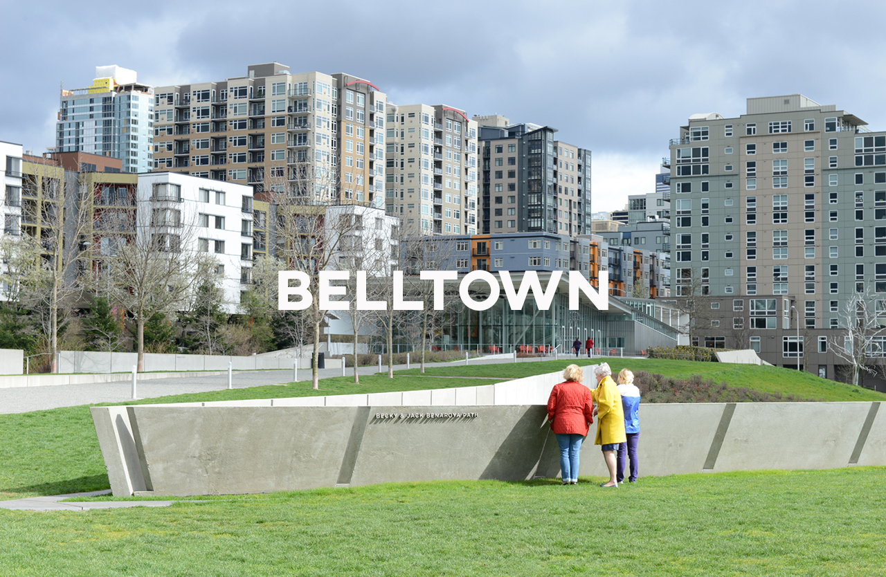 Belltown - Ditch the car: walkability, proximity and more than 100 eating spots.