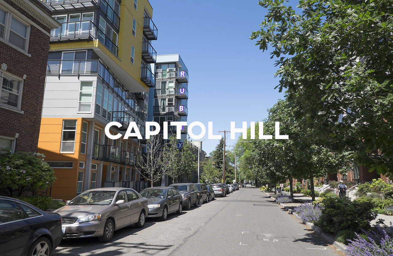 Capitol Hill - The place to be if you want to be in front of the trend wave.