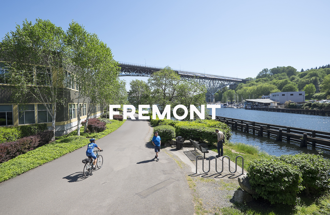 "Fremont - Also known as ""Republic of Fremont, the Center of the Universe."""