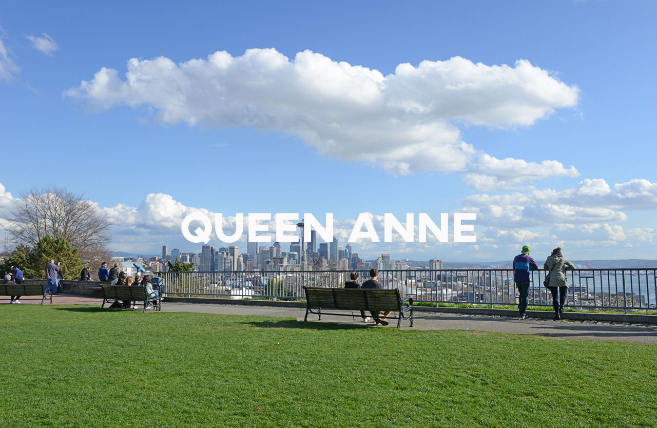 Queen Anne - Highly desirable with iconic Puget Sound and Lake Union views.