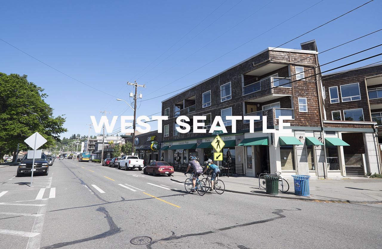 West Seattle - A new look for traditional Seattle.