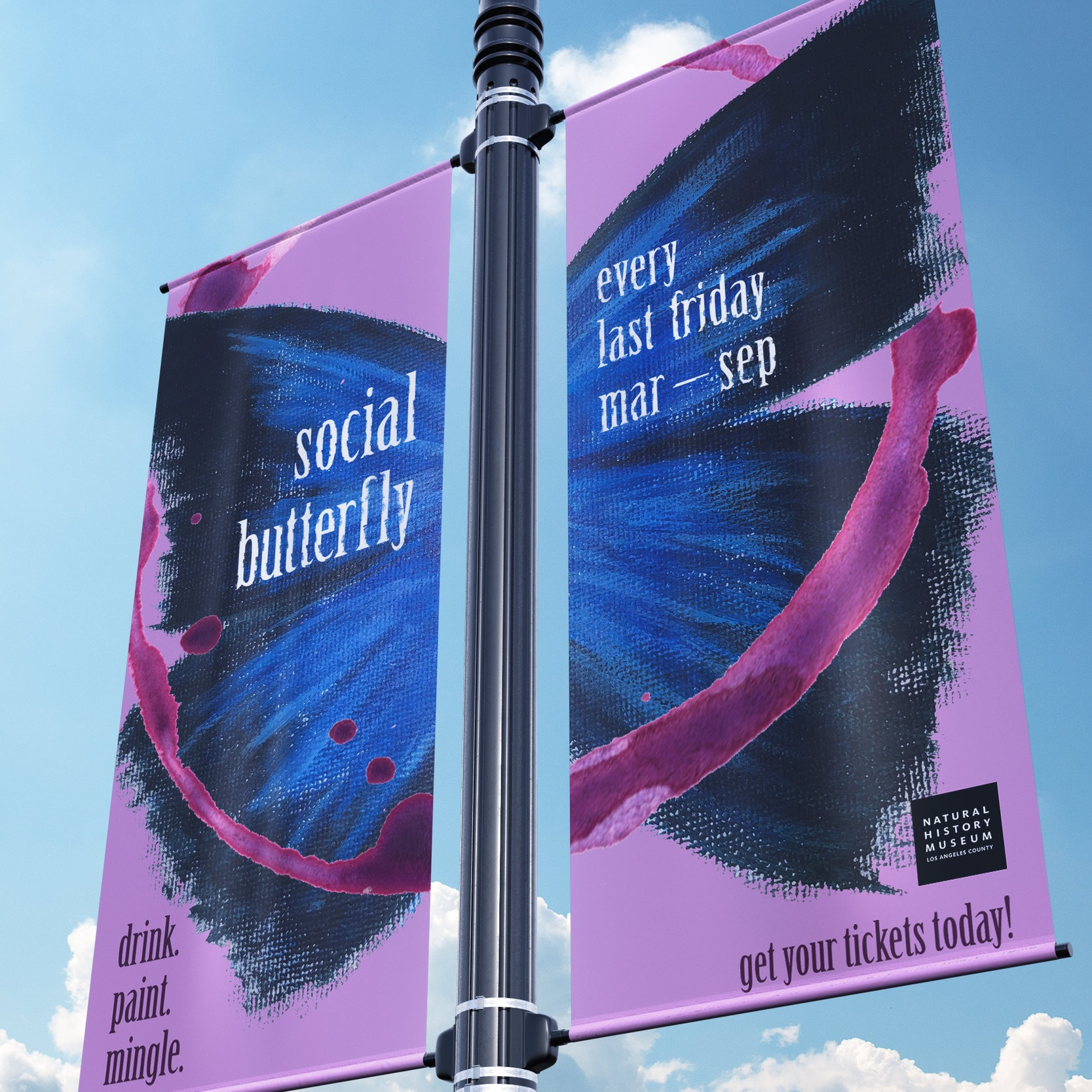 SOCIAL BUTTERFLY (ad)