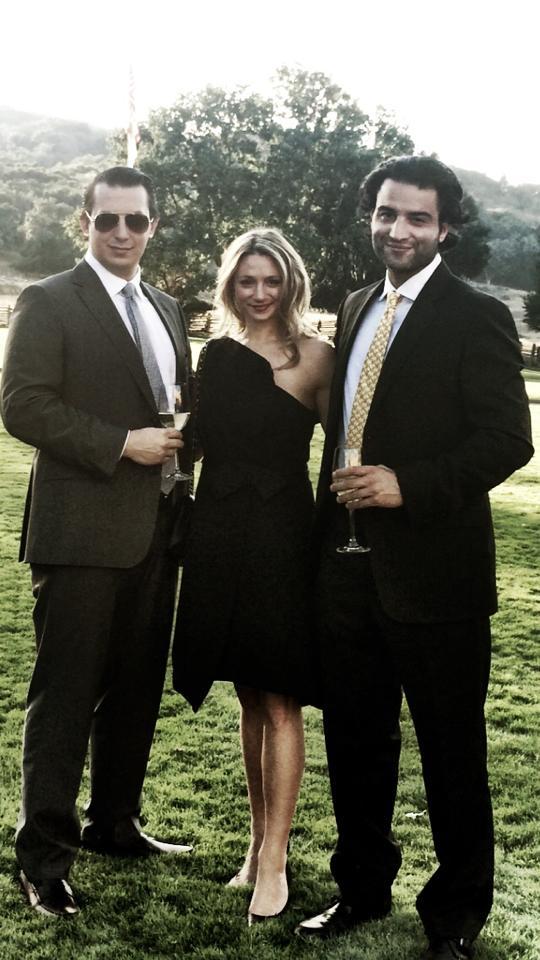 Cori, Mareza and me at our friends Nicole & Nat's wedding