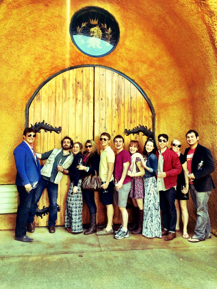 Sonoma with friends