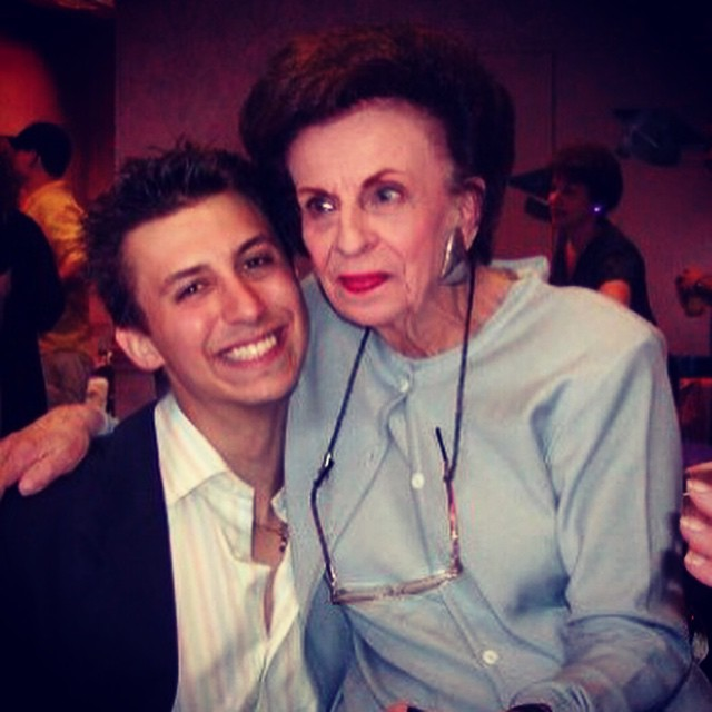 With my Grandma whom I miss every day