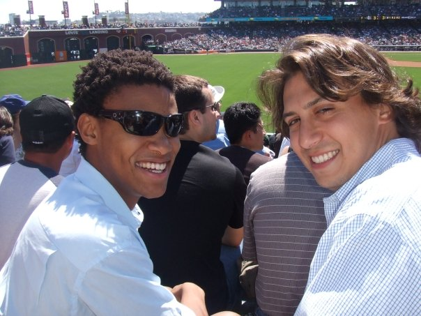 SF Giants game with Kanyi