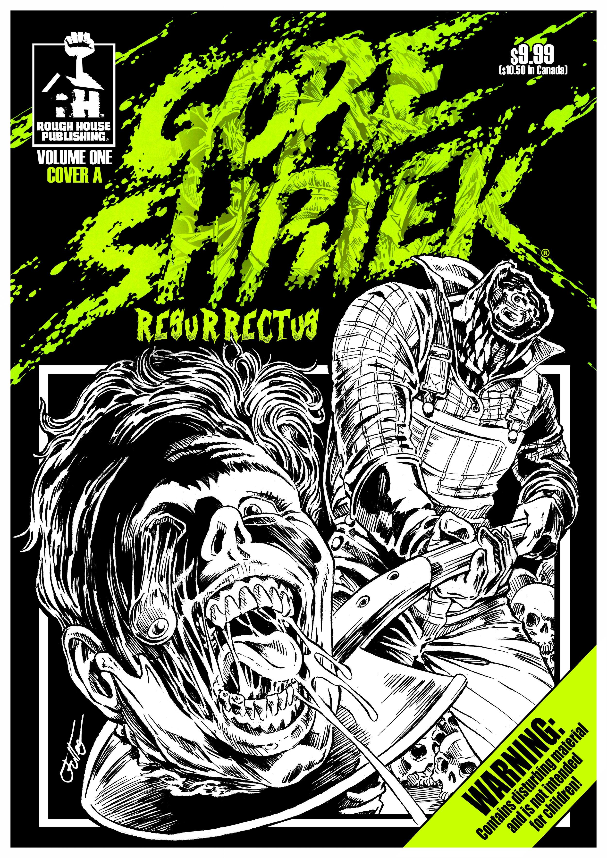 FRONT COVER GORE SHRIEK RESURRECTUS