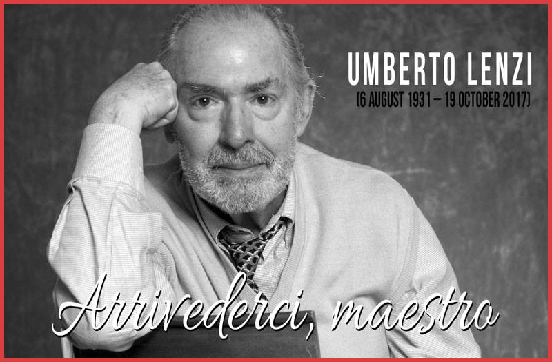 UMBERTO LENZI, DIRECTOR OF THE ORIGINAL NIGHTMARE CITY (AKA CITY OF THE LIVING DEAD) 1980.
