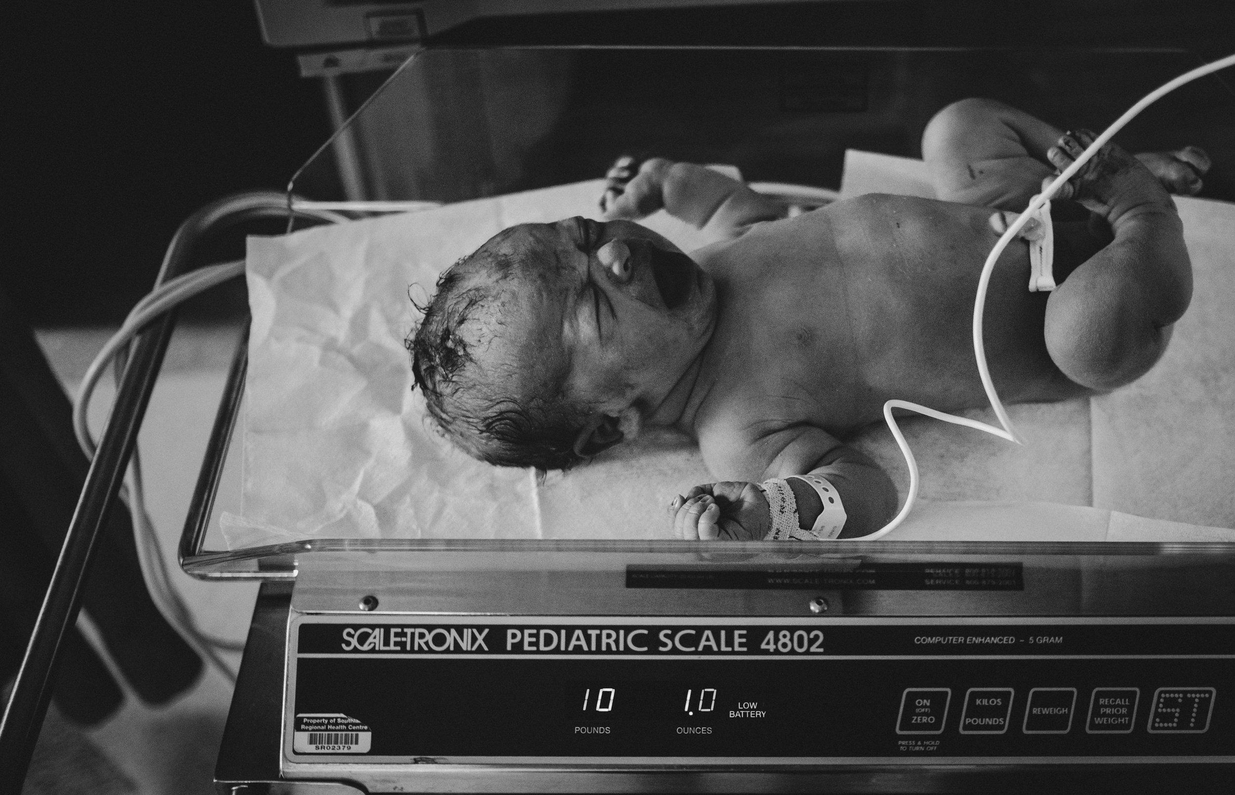 Barrie Birth Photographer