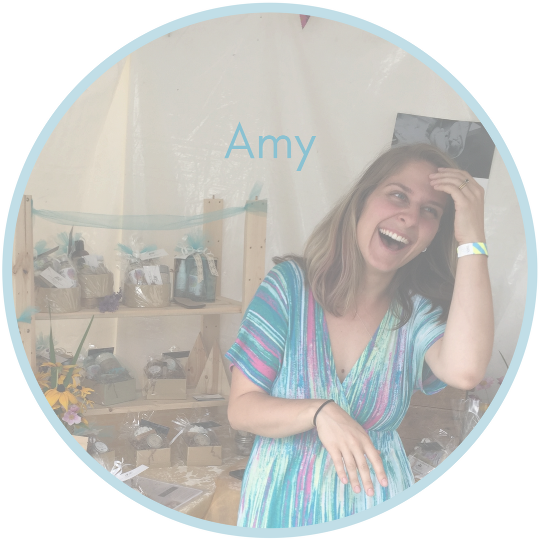 Amy Finn Scharlach - Organizer and Necklace Maker for the Moonstone Momma Holiday Hope Campaign