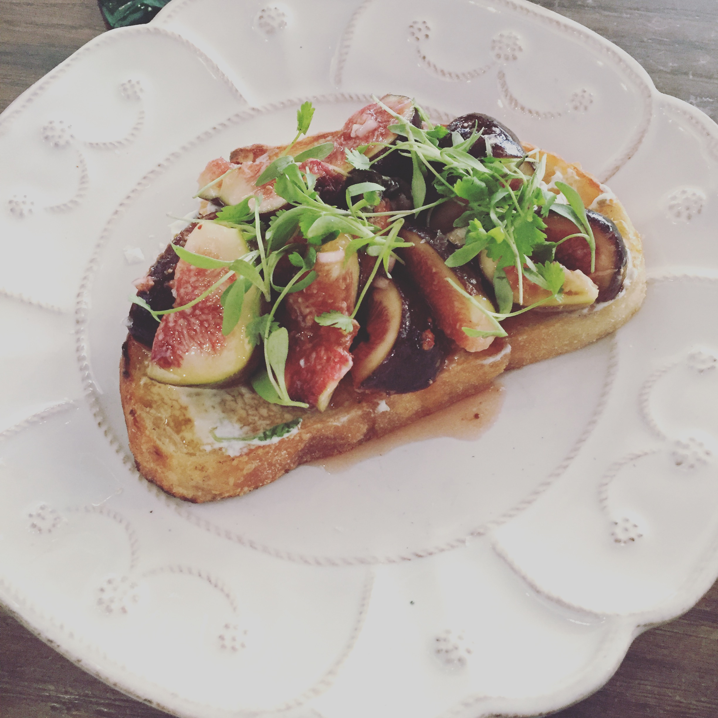 Black Mission Fig Tartine