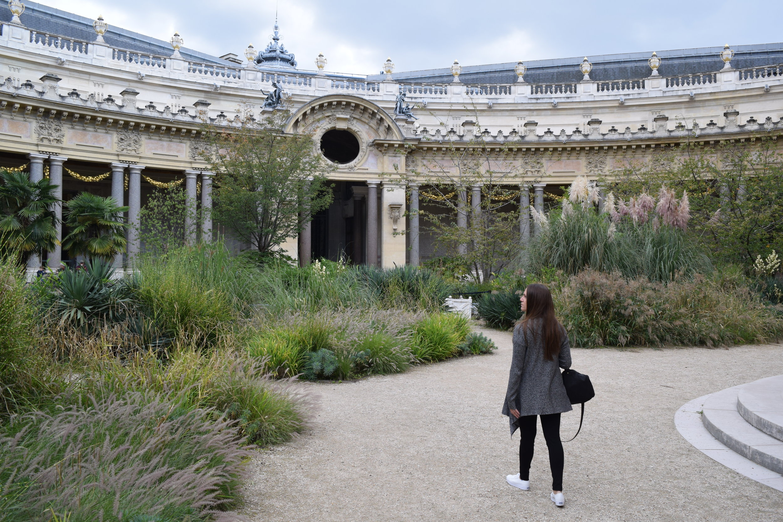 Discovering the gardens at the Petit Palais