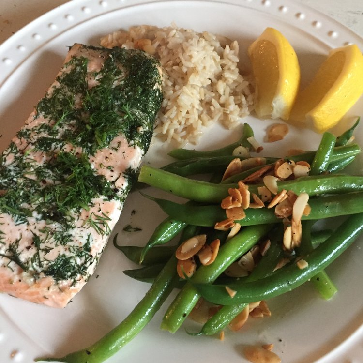 Herb Roasted Salmon