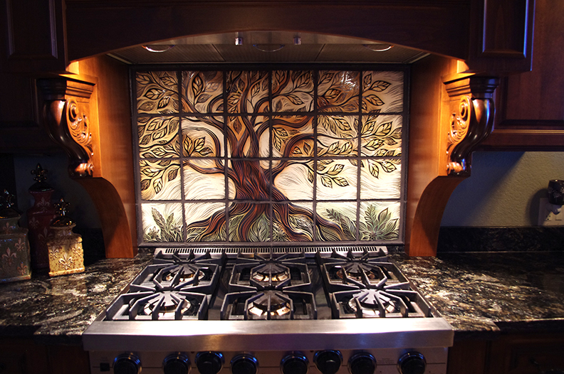 Making A Custom Kitchen Backsplash