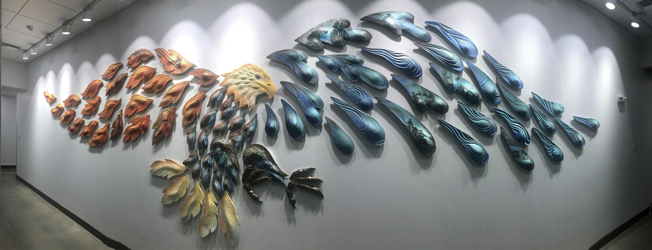 Natalie Blake Studios Tile Murals Ceramic Wall Art