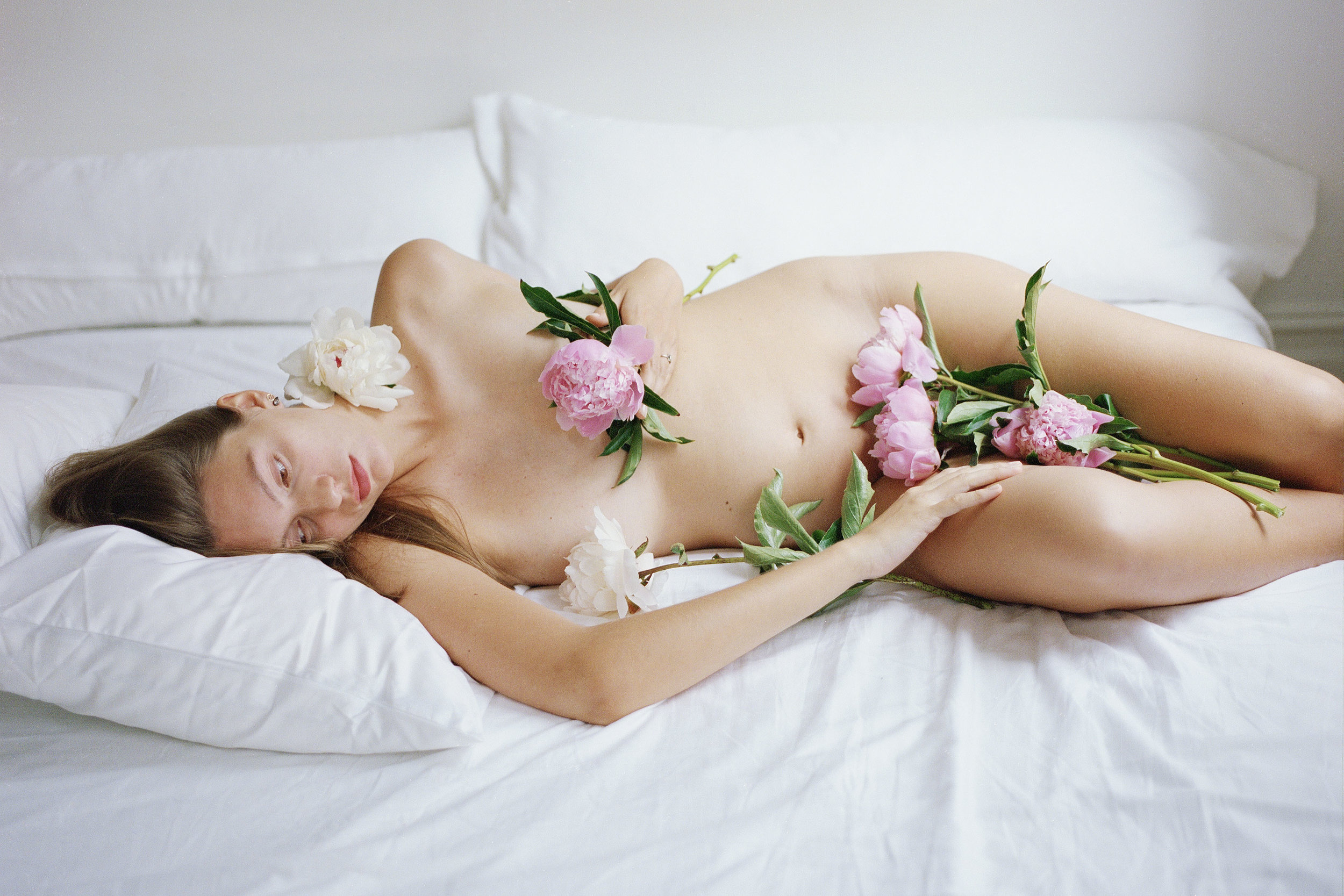 Women & Flowers - exhibition displayed in NYC & Miami