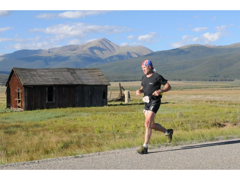 Leadville Trail 100 Mile race, Colorado (2008, 2010). Altitude is the challenge here on this out and back adventure!