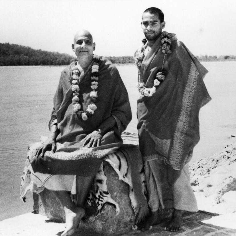 Swami Sivananda & Swami Vishnudevananda