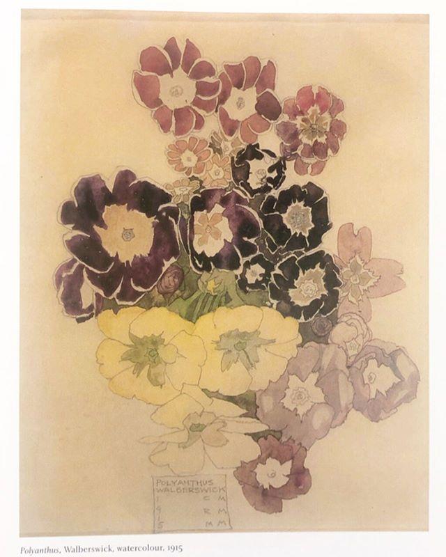 Margaret Macdonald Mackintosh.  1915.  #inspiration.🌼