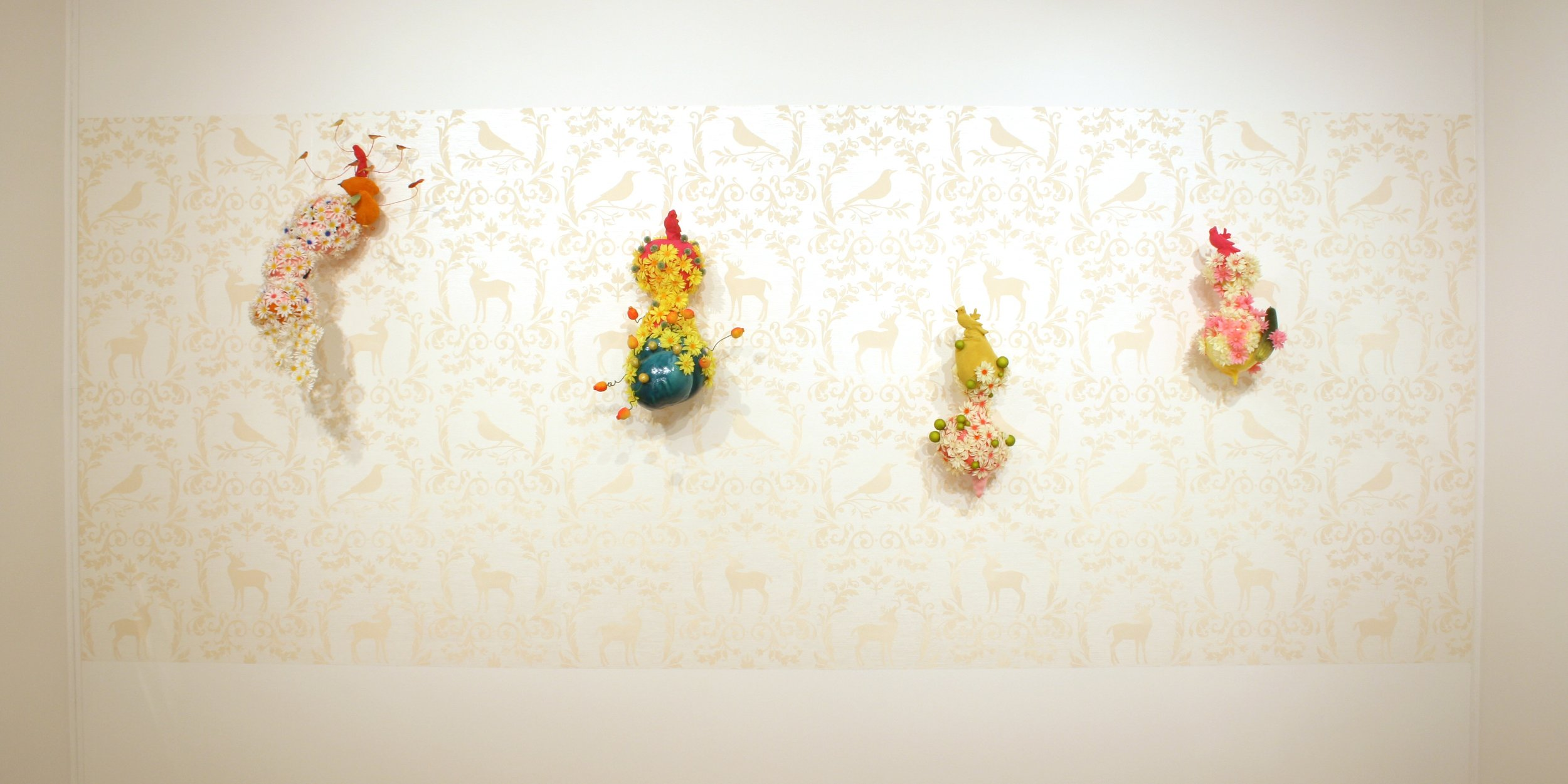 Flower Blobs on Flocked wallpaper.jpg