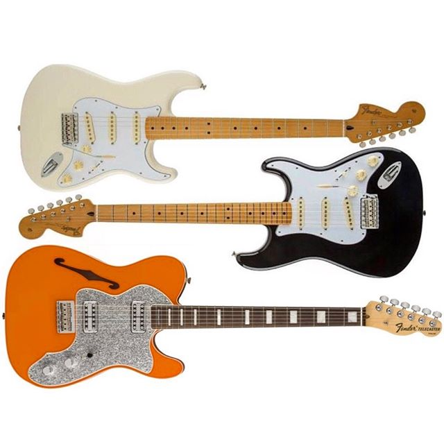 The @fender lineup