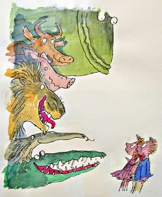 illustration, Sir Quentin Blake