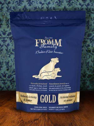 Reduced Activity and Senior Gold Dog Food Fromm.png