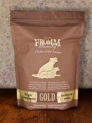 Weight Management Gold Fromm Dog Food.png