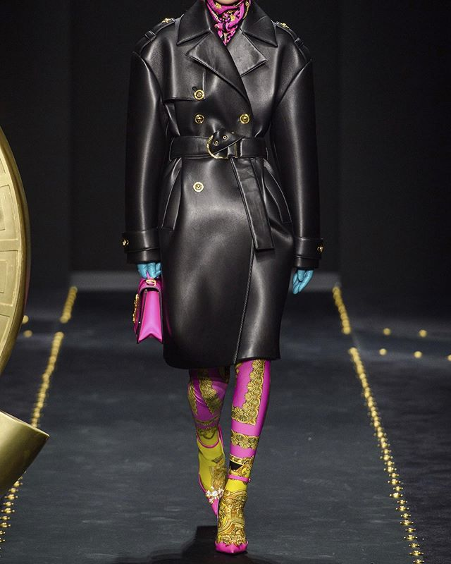 hm yes or no? @versace  im living for the black looks