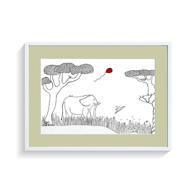 An Elephants Pride - part of the leeleeloon loves Africa adventures. Make this a personalised gift for a little munchkins baby room? Leeleeloon.com day... #momtogs #candichildhood #instababy #baby #babyroom #babygifts #nursery #drawing #illustrations #littleadventures #childhoodunplugged #littlegirl #littleboy #babyroom #kidsroom #moodoftheday #bespoke #yummymummy #childrensinterior #childrensroom #toys #leeleeloon #claphamcommon #claphammums #yummymummylondon #mumentrepreneur #babybirthday #mummytribe #gift