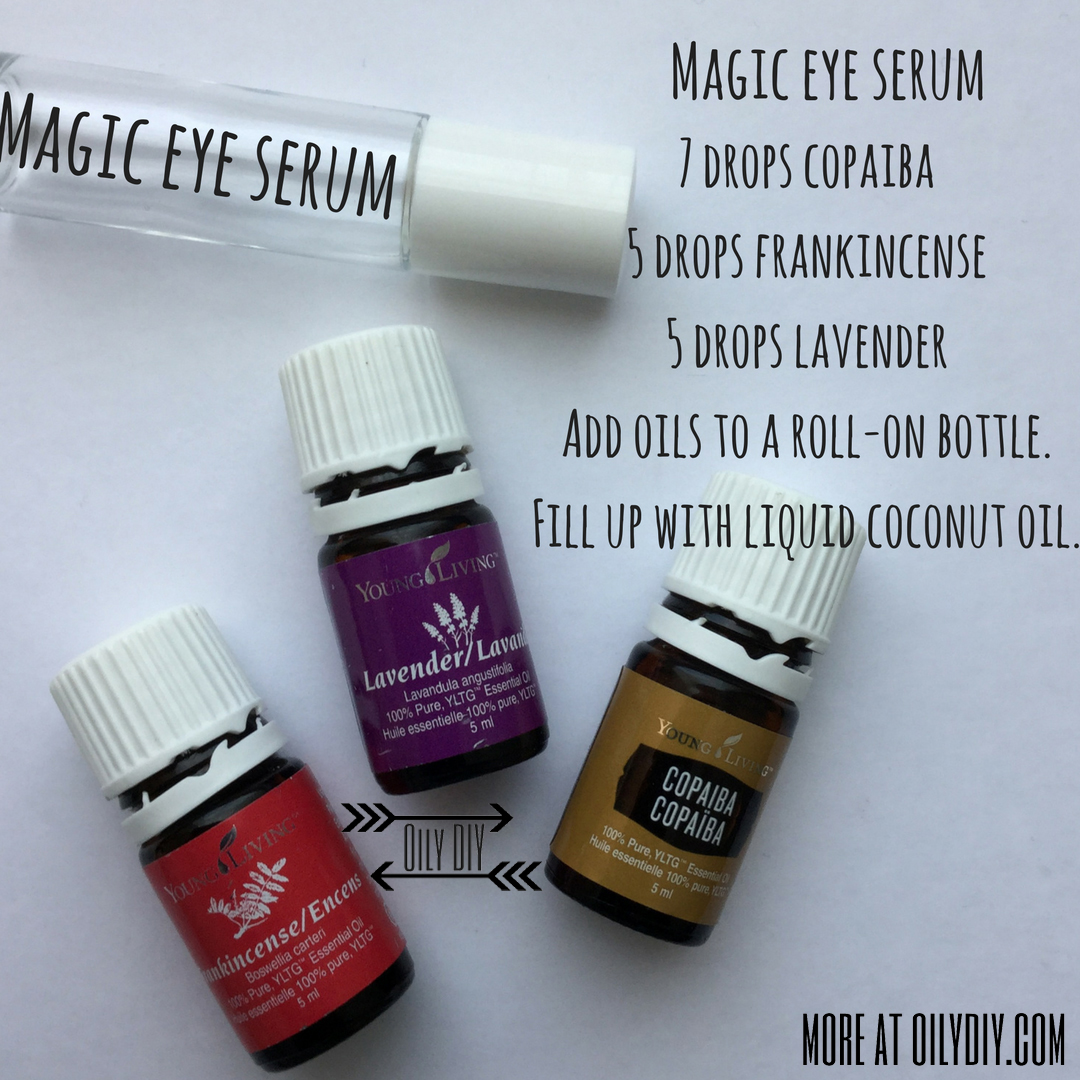 Magic Eye Serum Oily Diy