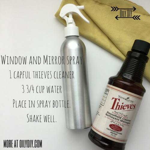 Windows and Mirror Spray