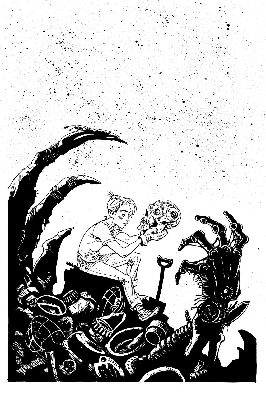 DEAD ROBOT #2 COVER - CCP Comics